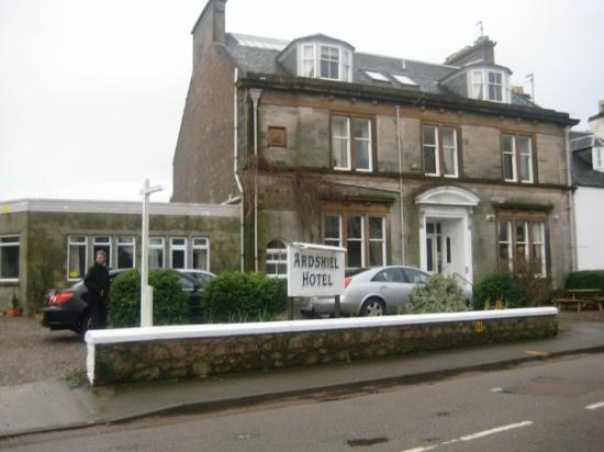 The hotel Ardshiel, Campbeltown.