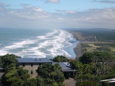 Muriwai coast scene