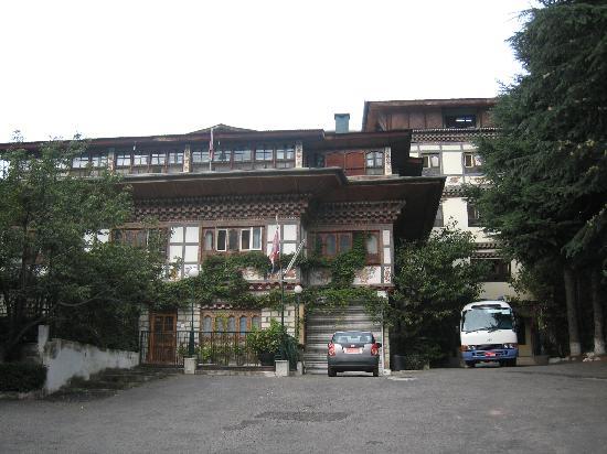 Yeedzin Guest House: Courtyard