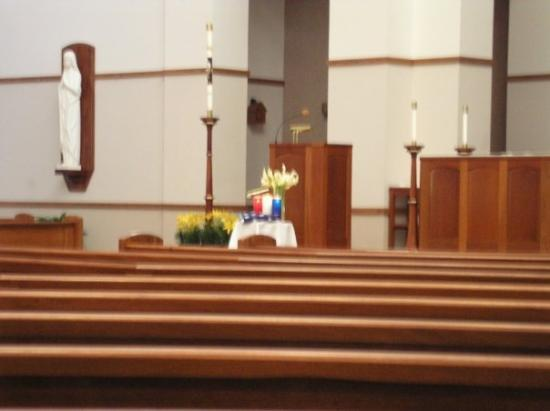 28 maggio 2006 - Lexington (SC): anche la chiesa Corpus Christi è patriottica.