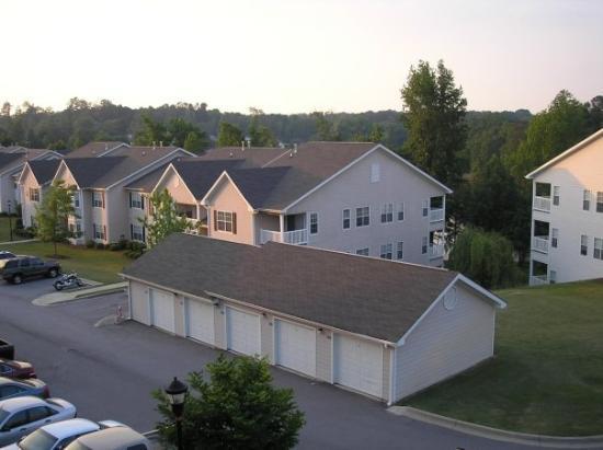 25 maggio 2006 - Lexington (SC): vista diurna dal balcone di casa.