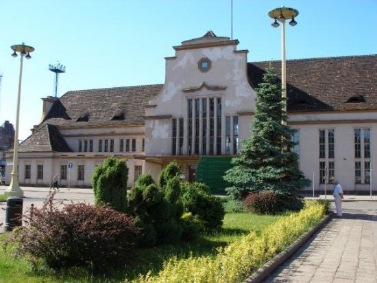 Legnica, Polonia: Legnicki dworzec