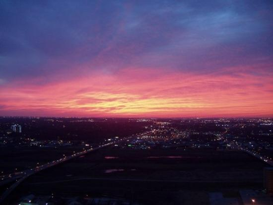 December 2004 - Dallas, Texas - Texas Sunset - Taken from the Reunion tower on New Years Eve 200