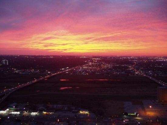 December 2004 - Dallas, Texas - Texas Sunset 2 - Taken from the Reunion tower on New Years Eve 2