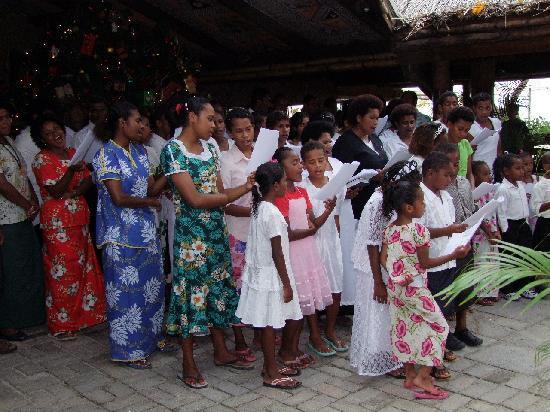 Castaway Island Fiji: Christmas Carols Fiji Style