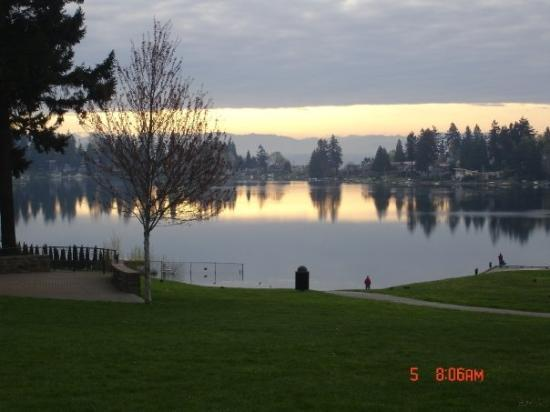 SeaTac, Waszyngton: Angel lake park