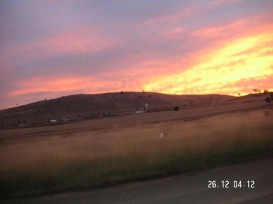 Sunrise 20km north east of Gundagai NSW
