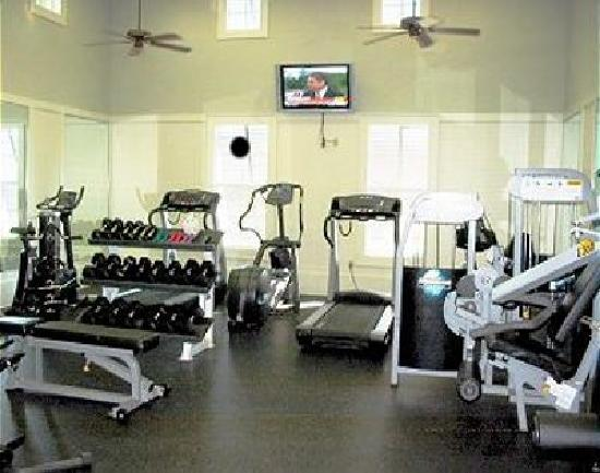Cinnamon Beach at Ocean Hammock Beach Resort: Cinnamon Beach includes fitness center