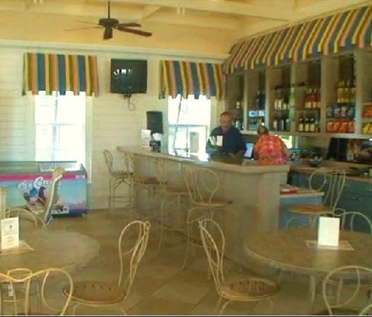 Cinnamon Beach at Ocean Hammock Beach Resort: A view of the Cinnamon Beach cafe