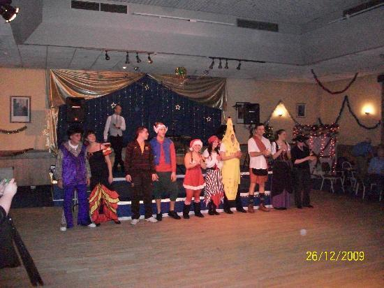 Bay Waverley Castle Hotel: Ballroom (staff fancy dress night)