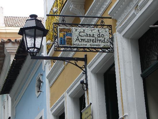 Hotel Casa do Amarelindo: Entrada Casa do Amarelindo