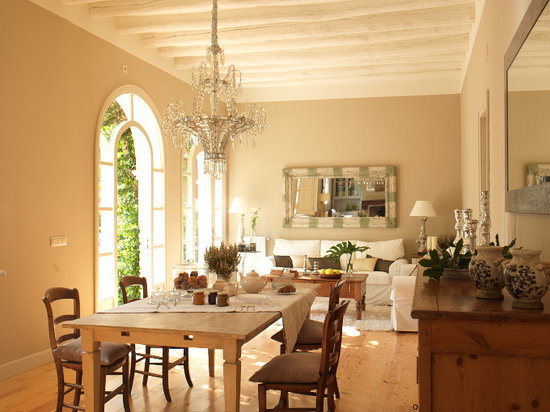 l'Hort de Sant Cebria: salon