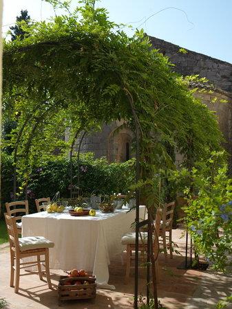 l'Hort de Sant Cebria: jardin