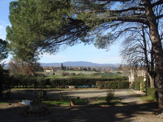 Hotel Villa Belvedere: Panorama dalla finestra della camera
