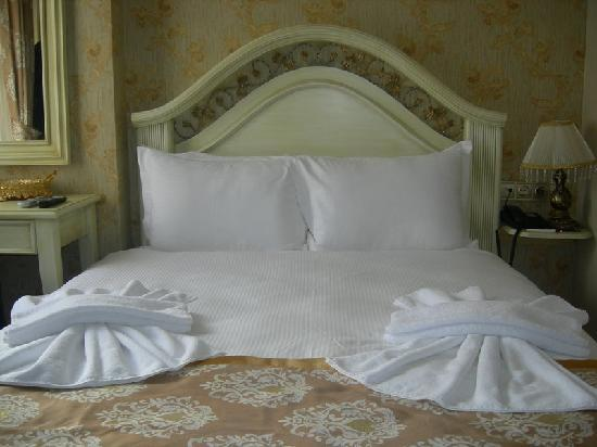 White House Hotel Istanbul: Letto