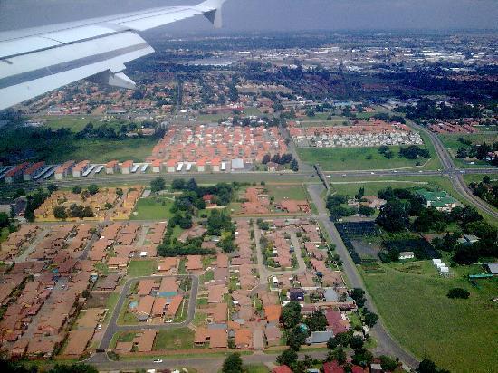 Greater Johannesburg, Sydafrika: Johannesburg Sudafrica vista aerea 6