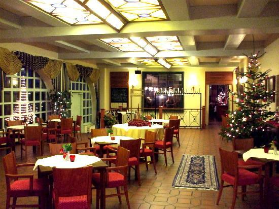Hotel Ebertor: Another of the dining areas.