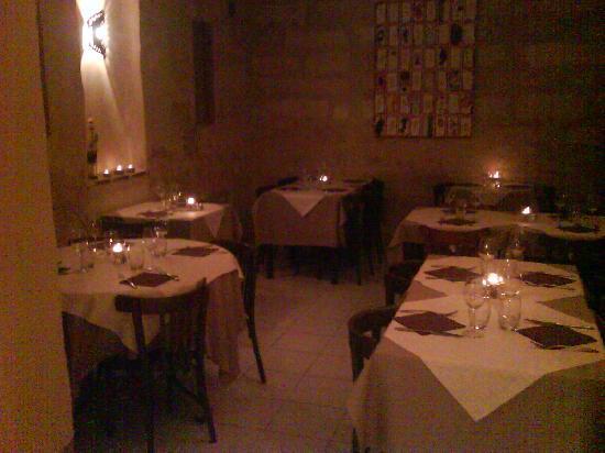 Chez Francois : salle pierre