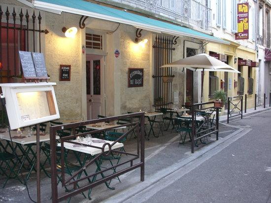 Chez Francois : terrasse
