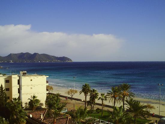 SENTIDO Playa del Moro: View from hotel balcony