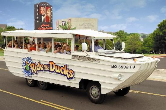 Ride The Ducks of Branson: Ride through the Ozarks!