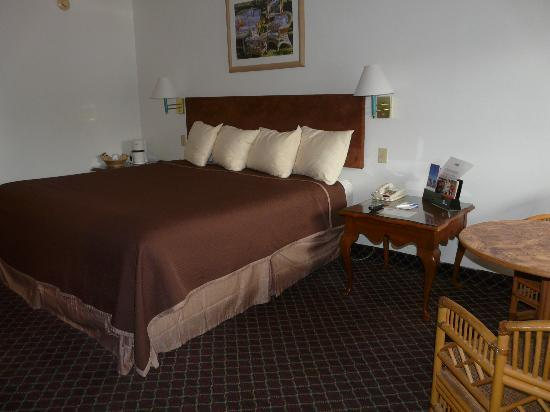 Rodeway Inn: King room