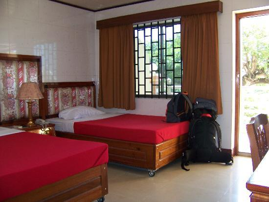 Kampong Thom, Kambodja: our room