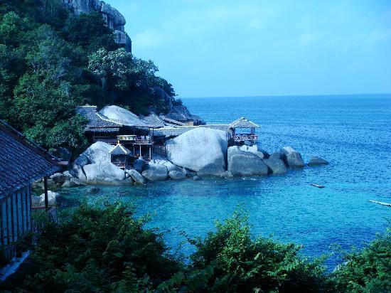 Charm Churee Villa: view of the private beach