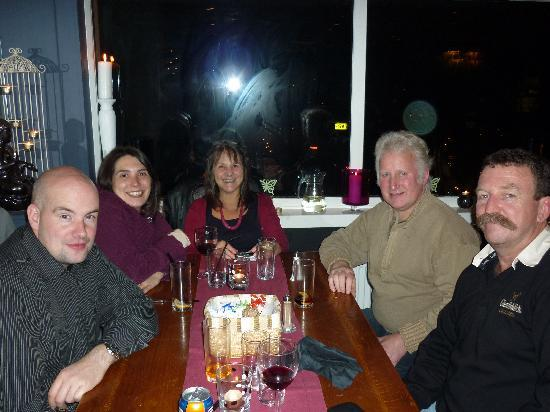 Adina B&B: A nice dinner out with the scots!