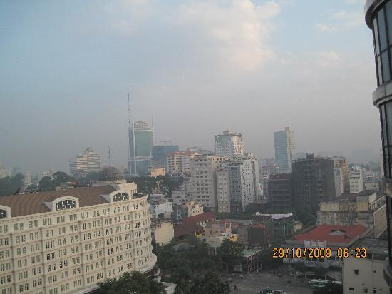 Caravelle Saigon : View from my room