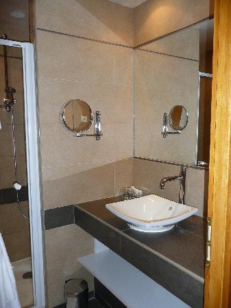 Langres, France : bathroom
