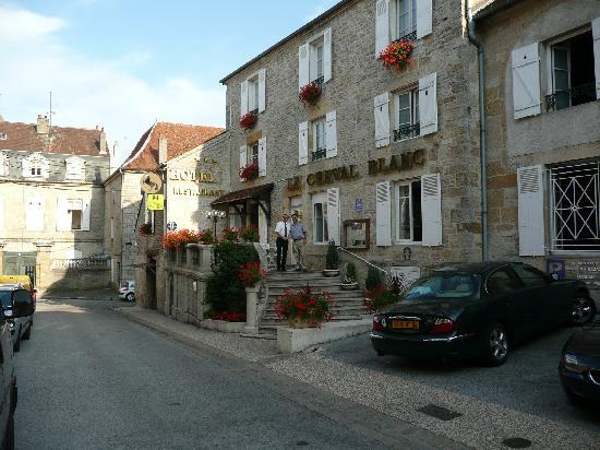 Langres, France : outside the hotel