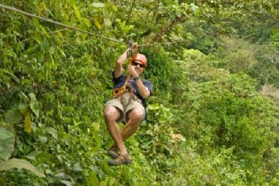 Arenal Volcano riding tour: Best Arenal Canopy Tour