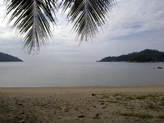 Pangkor, Malezja: view from the resort
