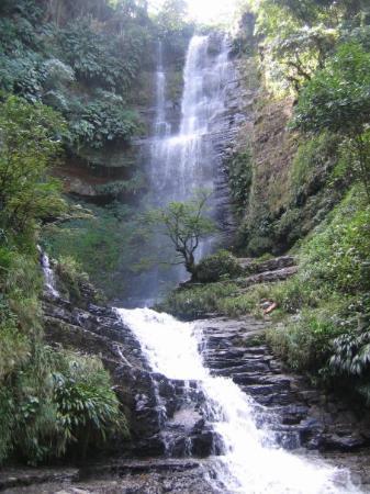 San Gil, Colombie : Cascadas Juan Curí, Santander.