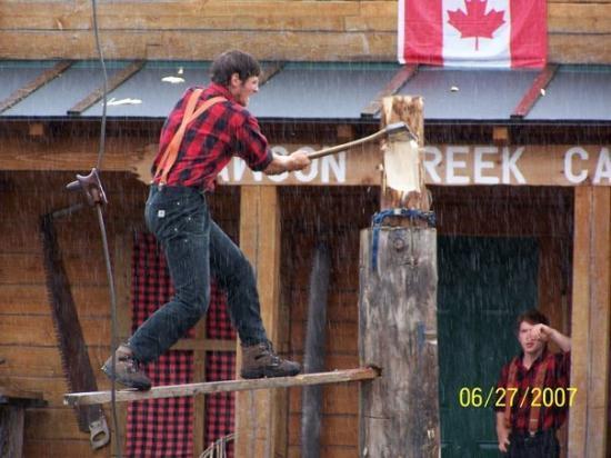 Great Alaskan Lumberjack Show ภาพถ่าย