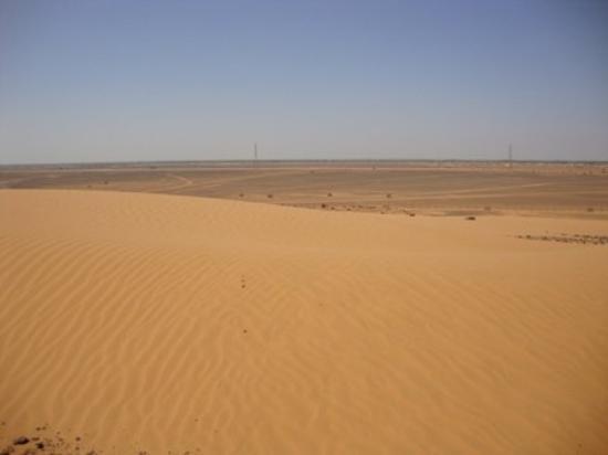 Shendi, Νότιο Σουδάν: desert