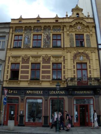 Pilsen, Czech Republic: Apotheke 4. 6. 2009