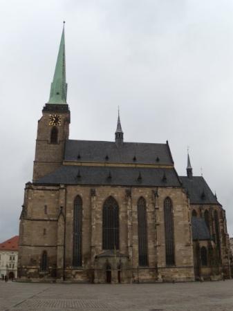 Pilsen, Czech Republic: Church of St. Bartolomeo 28. 2. 2009