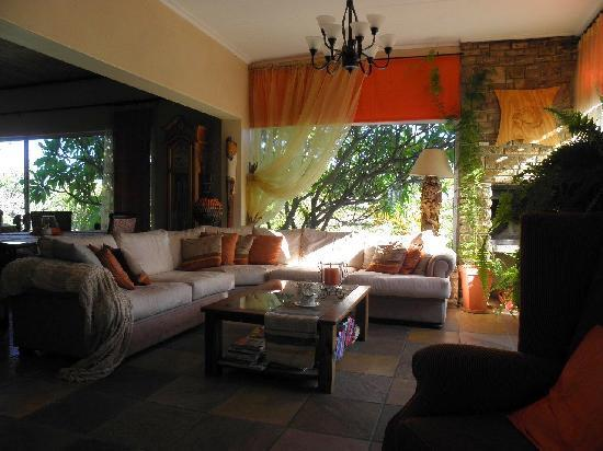 Guesthouse Terra Africa: living room