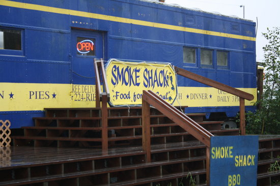 Smoke Shack: Can't miss The Train Wreck