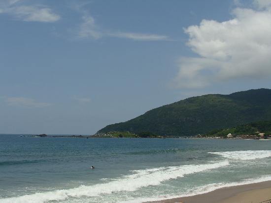 Pousada Penareia: Armação Beach - view from Pousada
