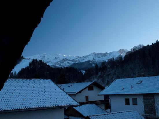 Gästehaus Rosengarten: The view from our room on the 3rd floor