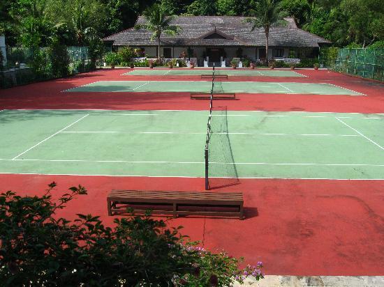 Pangkor Laut Resort : Tennis courts