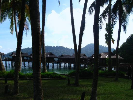 Pangkor Laut Resort : The sea villas