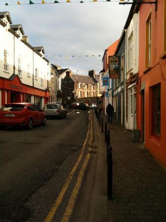 Camp, Ierland: Street scene in Dingle