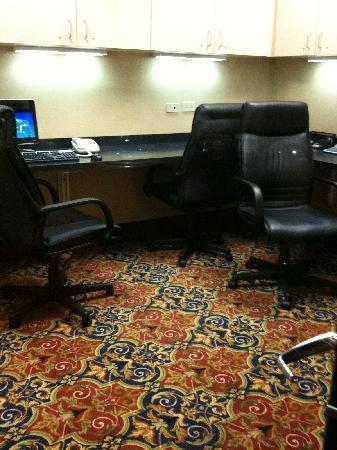 Hampton Inn & Suites Indianapolis-Airport: Business Center