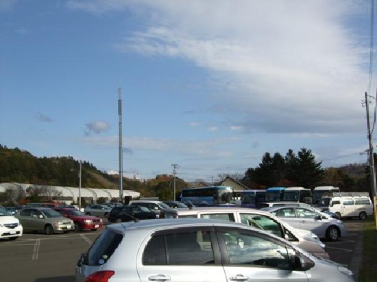 Takinoue Park: 駐車場
