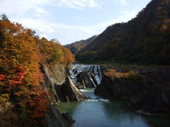 Yubari, Japan: 川