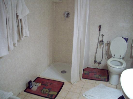 Welrome Hotel: bathroom of quad